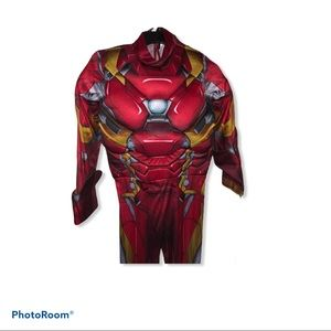Iron man marvel Disney kids boys large costume